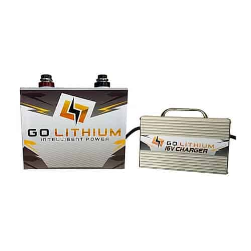 Go Lithium 16 volt battery and charger combo deal