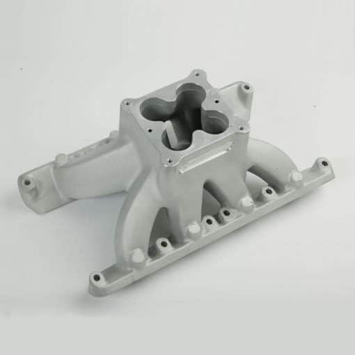 CHI SBF Windsor Commander Intake Manifold - Plenum View