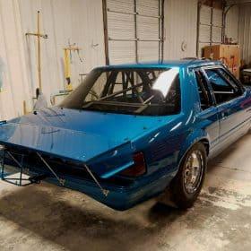 79-83 Mustang Foxbody Coupe Rear Lexan Window