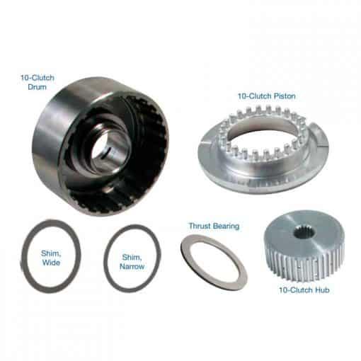 Sonnax 28756-16K 10-Clutch Drum, Hub & Piston Kit with Bearing