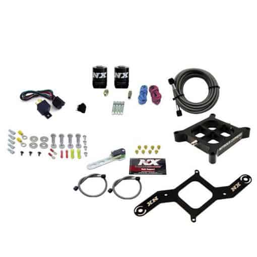 SINGLE ENTRY BILLET CROSSBAR PLATE SYSTEM, 100-500HP (4150 FLANGE)- NO BOTTLE
