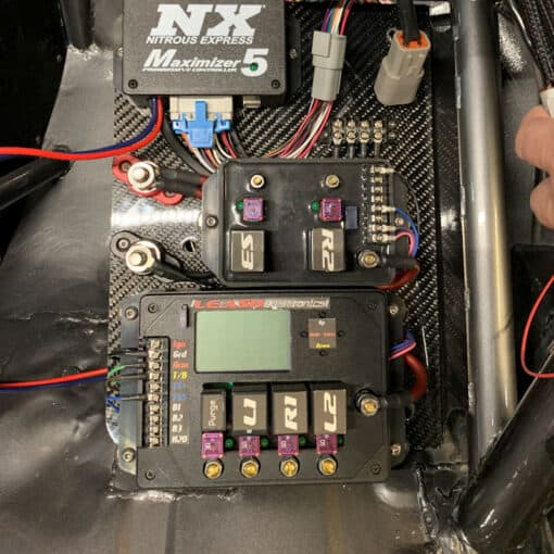 Leash 4 Stage Timer in Sam Vincent's Mustang