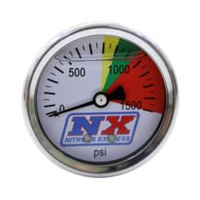 NX 1500 psi Nitrous Pressure Gauge