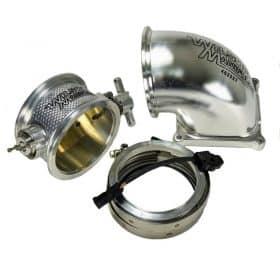 Wilson Manifolds 486401 123mm Throttle Body & Elbow Combo
