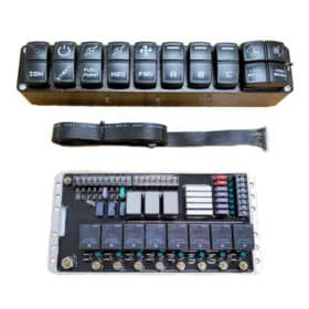 Leash Street Strip Wiring Board with Switch Panel