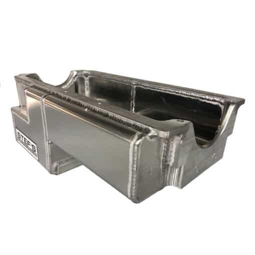 SBC Rocket Block Wide Rail Fabricated Aluminum Oil Pan