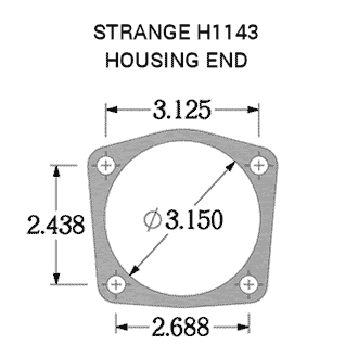 Strange GM Housing End H1138